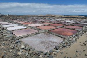 Salinen zur Gewinnung von Meersalz